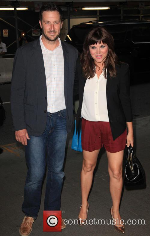 Tiffani Thiessen and Brady Smith 9