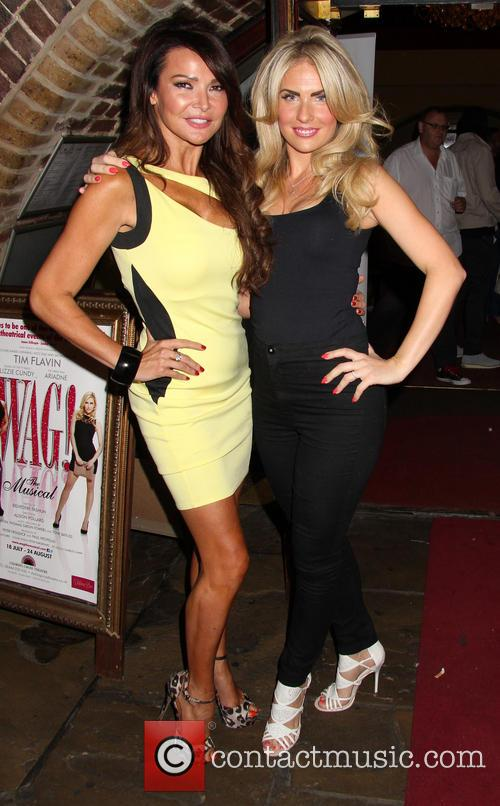Lizzie Cundy and Pippa Fulton 1