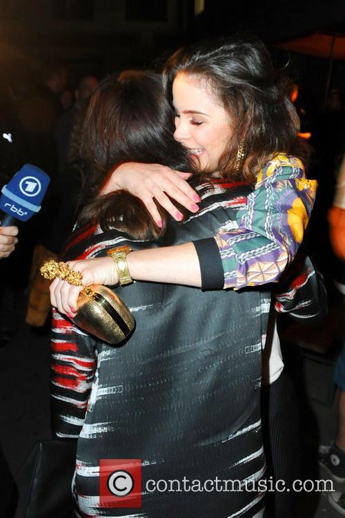 Charlotte Roche and Lena Meyer-landrut 2