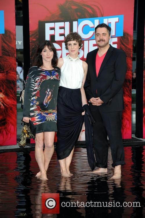 Charlotte Roche, Carla Juri and David Wnendt 8