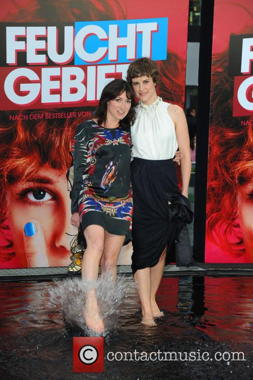 Charlotte Roche and Carla Juri 6