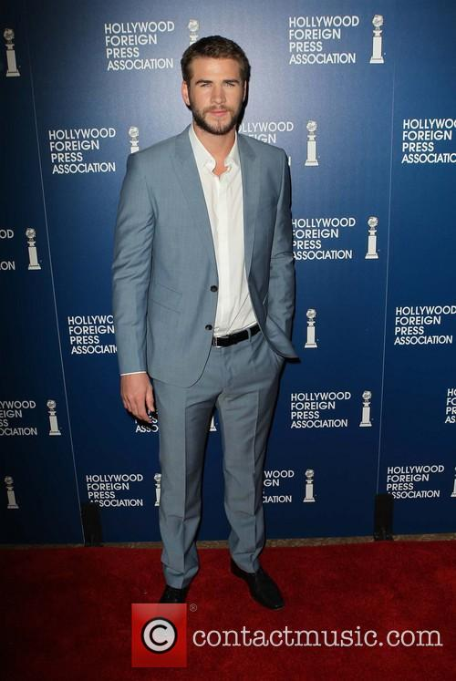 Liam Hemsworth, The Beverly Hilton Hotel, Beverly Hilton Hotel
