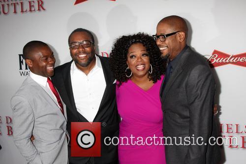 David Oyelowo, Lee Daniels, Oprah Winfrey and Forest Whitaker 2