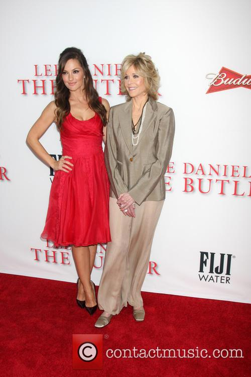 Minka Kelly and Jane Fonda 10