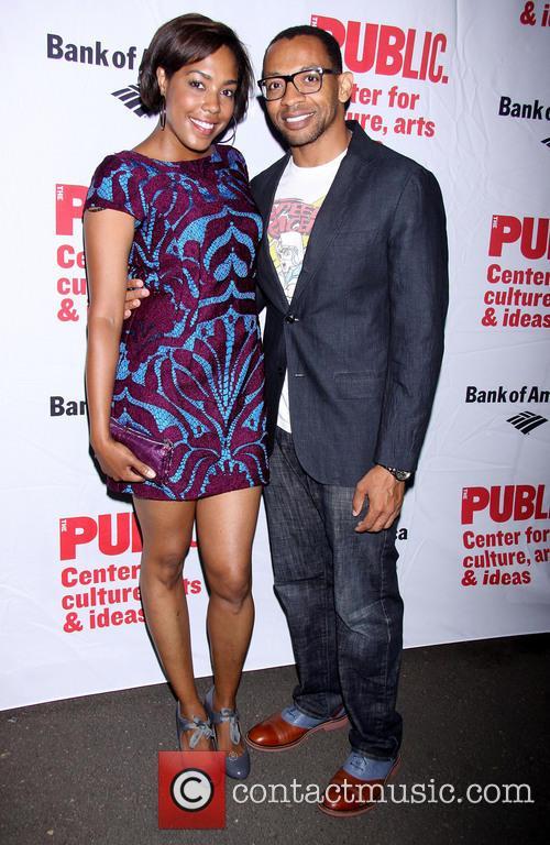 De'Adre Aziza and Derrick Baskin 2