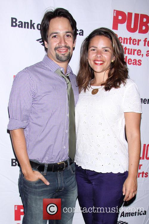 Lin-manuel Miranda and Vanessa Nadal 3