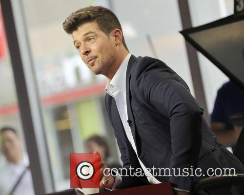 Robin Thicke on The Morning Show