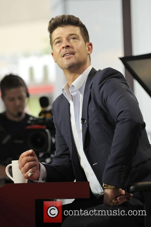 Robin Thicke, Global TV The Morning Show