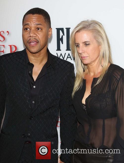 Cuba Gooding Jr and Sara Kapfer 1