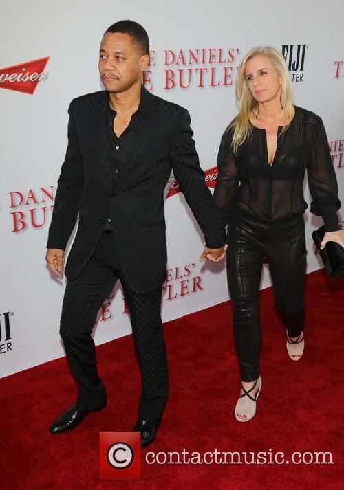 Cuba Gooding Jr and Sara Kapfer 5