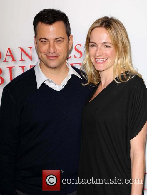 Jimmy Kimmel and Molly Mcnearney 4