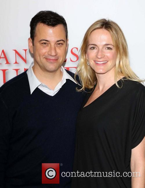 Jimmy Kimmel and Molly Mcnearney 5