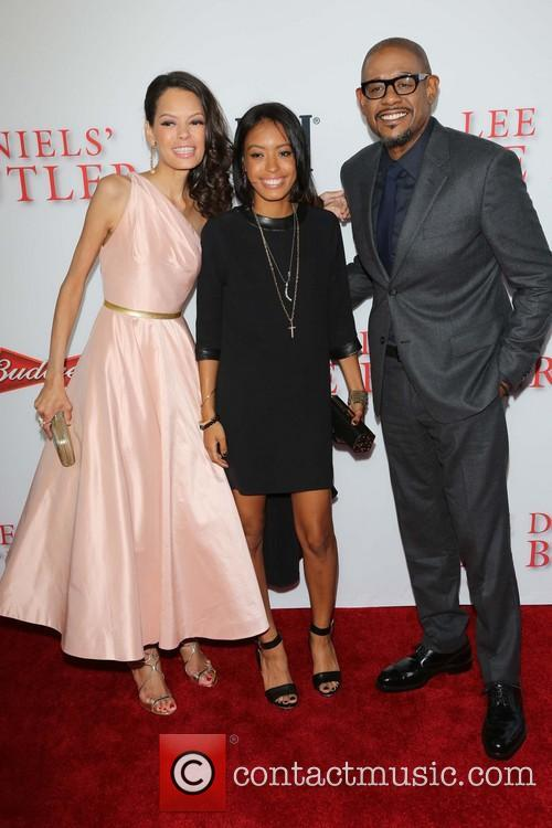 Keisha Whitaker, Autumn Whitaker and Forest Whitaker 1