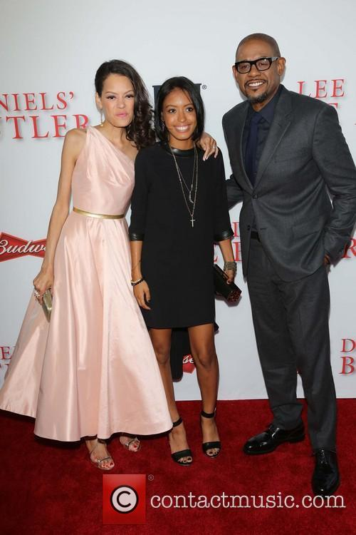 Keisha Whitaker, Autumn Whitaker and Forest Whitaker 4