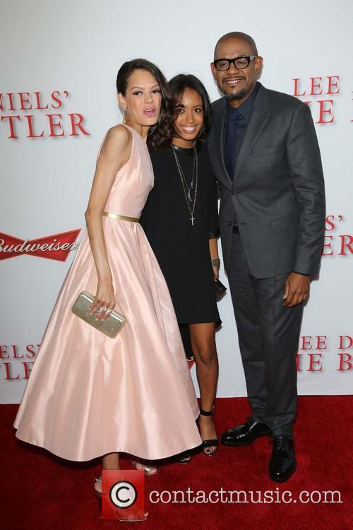 Keisha Whitaker, Autumn Whitaker and Forest Whitaker 9