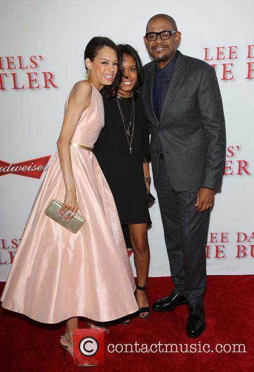 Keisha Whitaker, Autumn Whitaker and Forest Whitaker 10