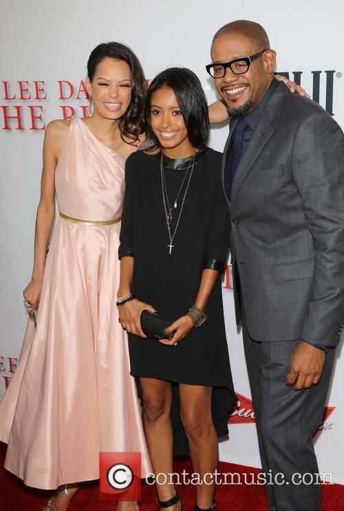 Keisha Whitaker, Autumn Whitaker and Forest Whitaker 11