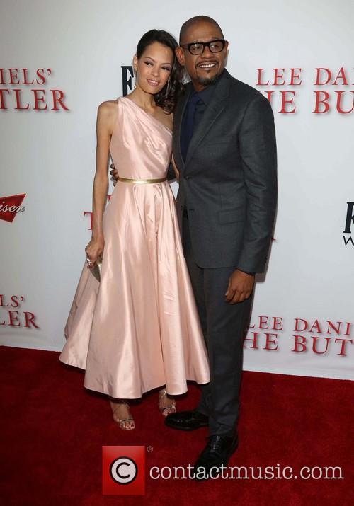 Keisha Whitaker and Forest Whitaker 3