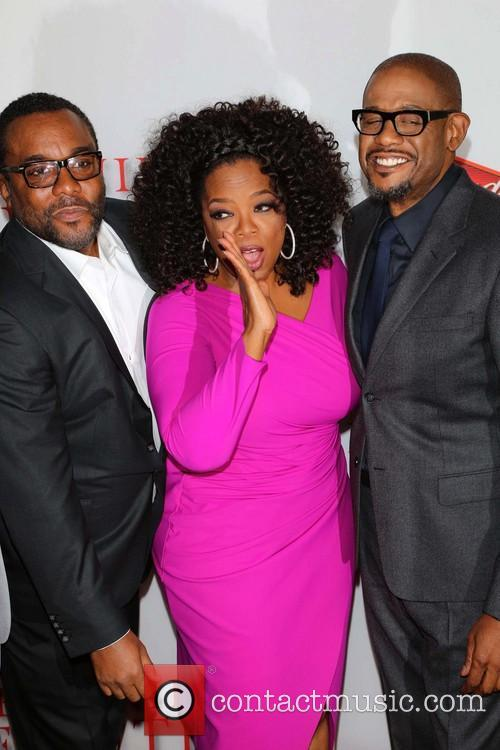 Lee Daniels, Oprah Winfrey and Forest Whitaker 6