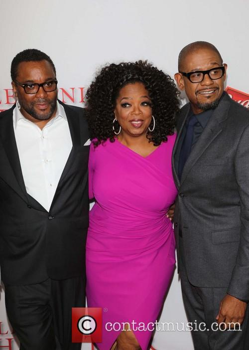 Lee Daniels, Oprah Winfrey and Forest Whitaker 8