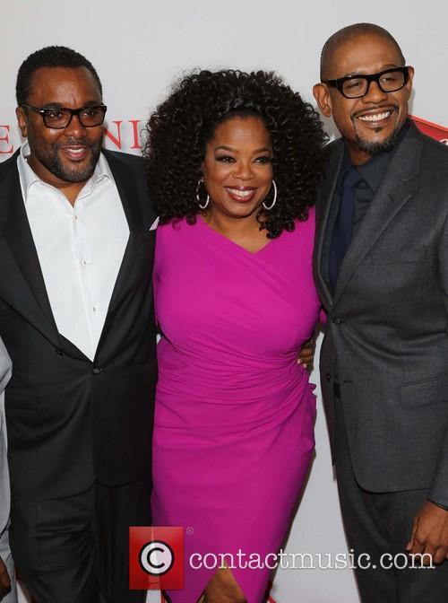 Lee Daniels, Oprah Winfrey and Forest Whitaker 10