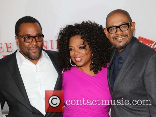 Lee Daniels, Oprah Winfrey and Forest Whitaker 1