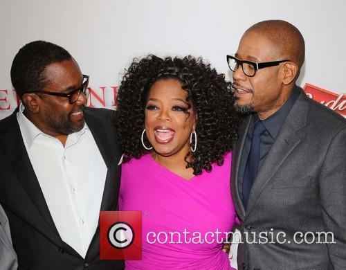 Lee Daniels, Oprah Winfrey, Forest Whitaker, Regal Cinemas L A Live
