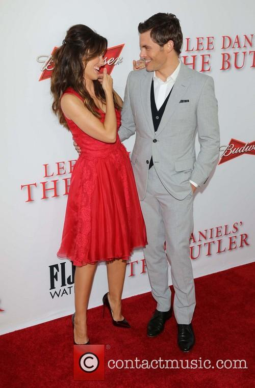 Minka Kelly and James Marsden 2