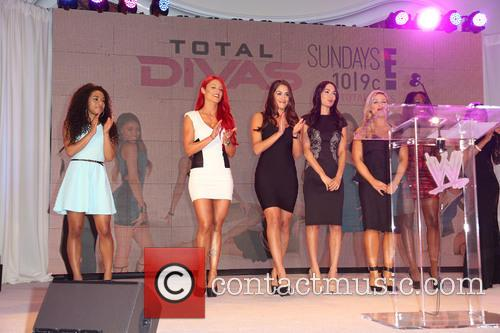 Jojo, Eva Marie, Nikki Bella, Brie Bella, Natalya, Naomi and Cameron 6