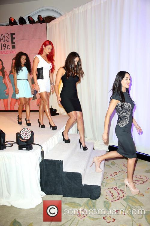Jojo, Eva Marie, Nikki Bella and Brie Bella 4