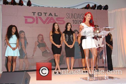 Jojo, Nikki Bella, Brie Bella and Eva Marie 5