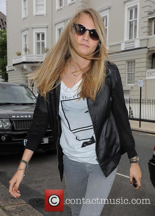 Cara Delevingne celebrates her 21st a few days late, by having a big shopping spree in Vivienne Westwood
