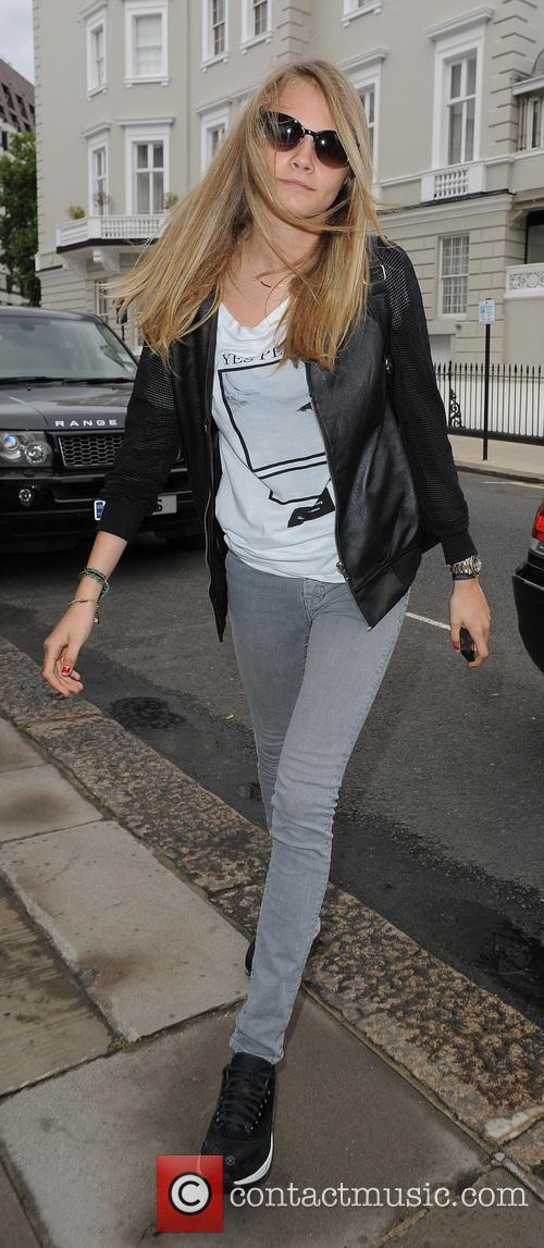 Cara Delevingne celebrates her 21st a few days...