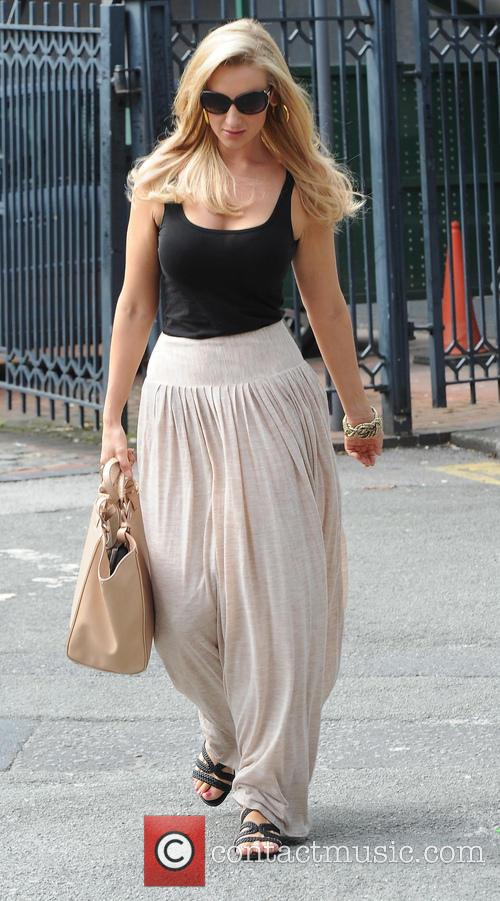 Catherine Tyldesley leaves the 'Coronation Street' set