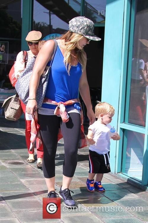 Hilary Duff and Lucas Comrie 4