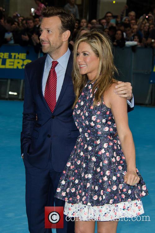Jason Sudeikis and Jennifer Aniston 4