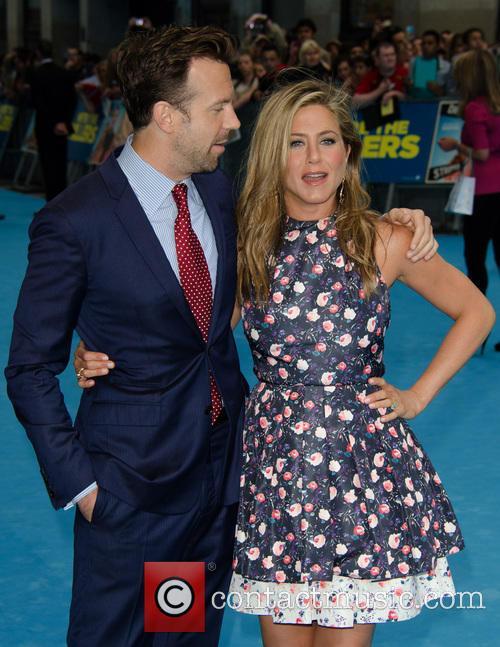 Jason Sudeikis and Jennifer Aniston 6
