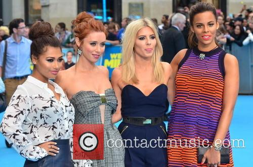 Vanessa White, Una Healy, Mollie King and Rochelle Humes 8