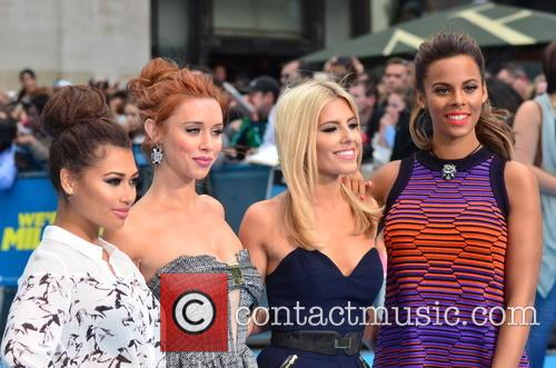 Vanessa White, Una Healy, Mollie King and Rochelle Humes 9