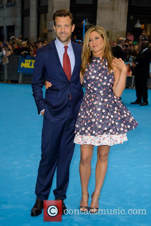 Jason Sudeikis and Jennifer Aniston 6