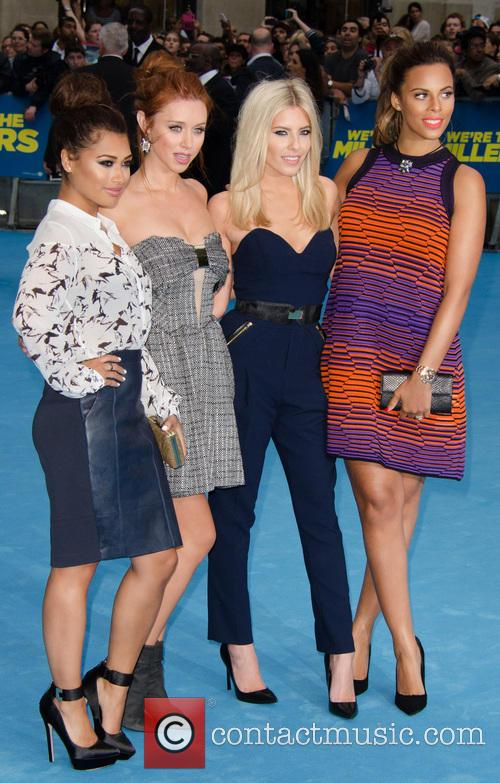 Vanessa White, Una Healy, Mollie King, Rochelle Humes and The Saturdays 10