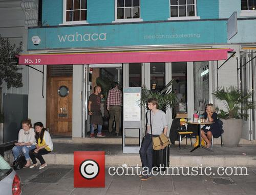 Wahaca restaurant, where Jennifer Aniston visited yesterday. Jennifer...