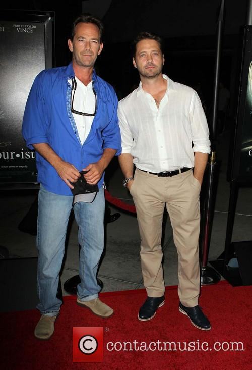 Luke Perry and Jason Priestley 2