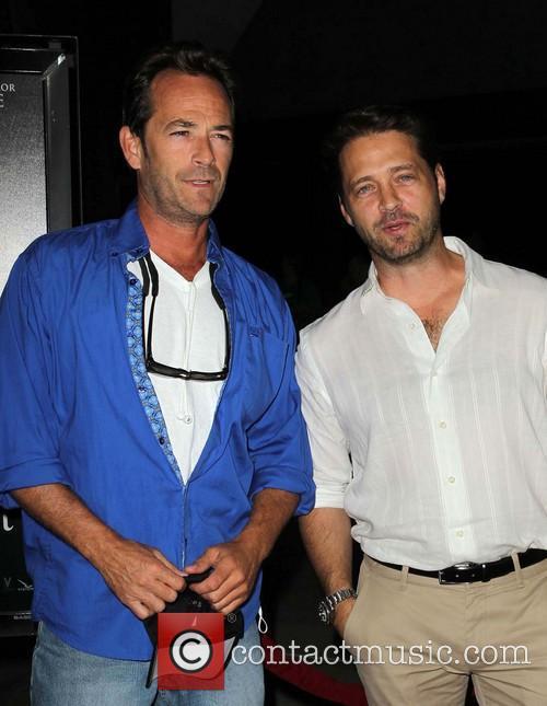 Luke Perry and Jason Priestley 1