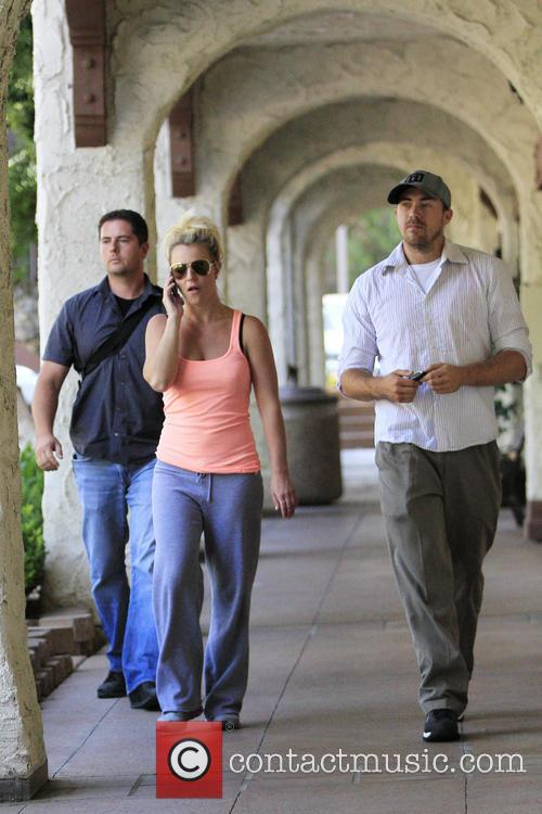 Britney Spears and David Lucado 2