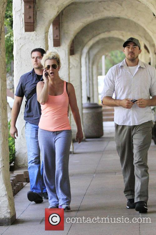 Britney Spears and David Lucado 6