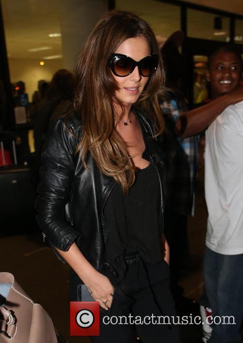 Cheryl Cole, LAX airport