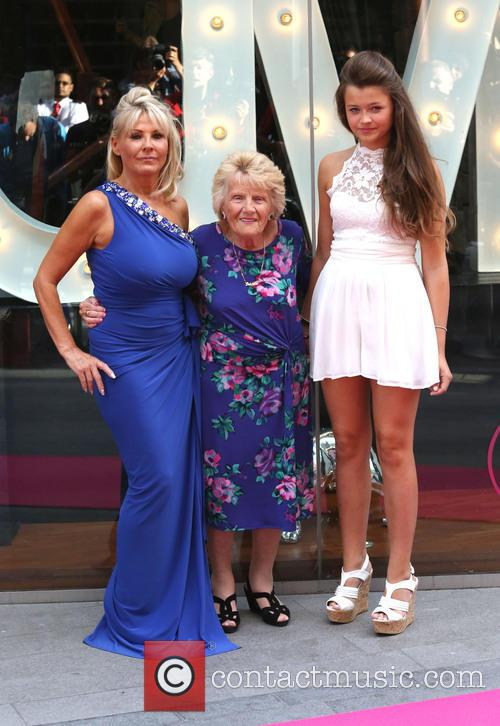 Jessica Wright, Carol Wright, Nanny Pat and Daughter 2