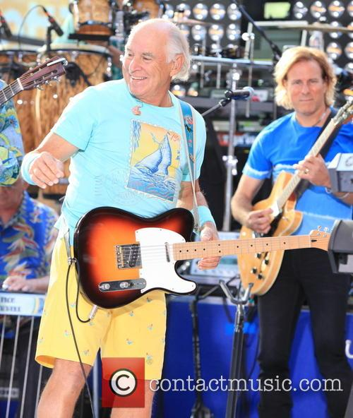 Jimmy Buffett performs on the 'Today' show