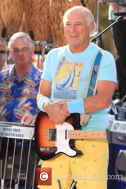 Jimmy Buffett Performs On 'Today' Show